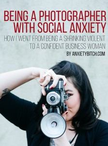 Photographer with Social Anxiety
