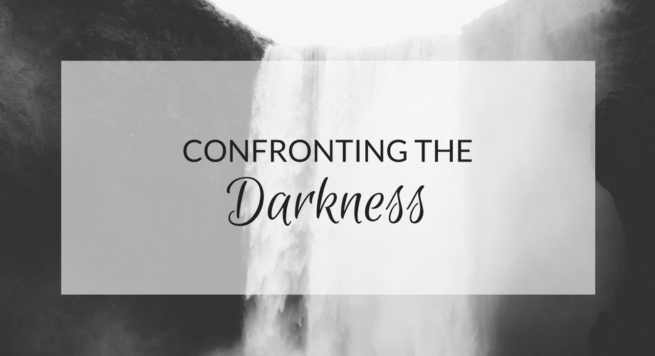 Confronting the darkness - depression