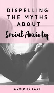Dispelling social anxiety myths