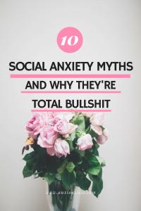 Social Anxiety Myths