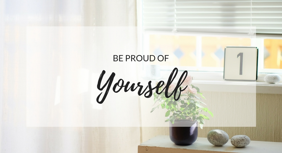 Be proud of yourself! [Guest Post]