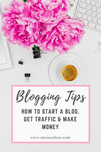 Blogging Tips - How to start a blog, get traffic to your blog and make money from your blog. Blogging tips, blogging advice, starting a blog, blogging, blog, traffic, blog traffic, make money blogging, blogging for money