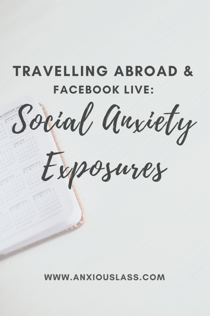 Social Anxiety Exposures series.
