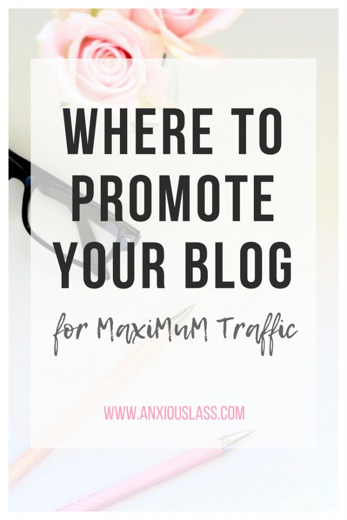 Where to promote your blog for maximum traffic