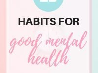 12 Habits For Good Mental Health