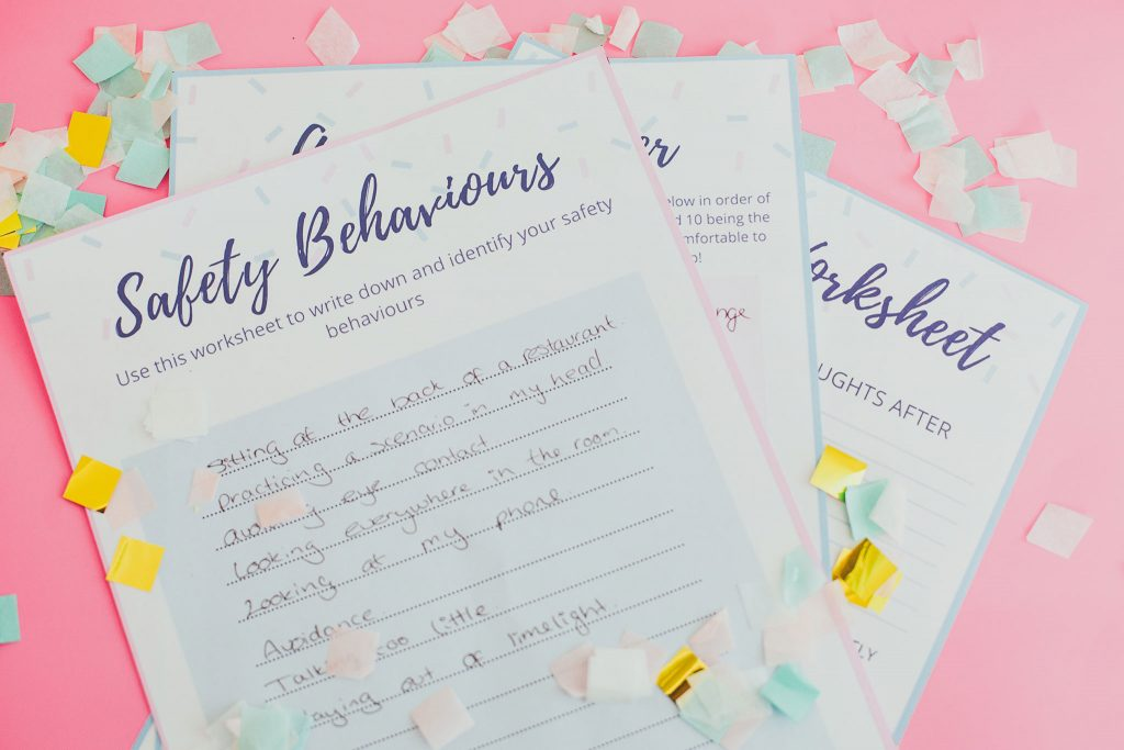 5 Methods I Used To Overcome Social Anxiety Disorder - Social Anxiety Worksheet