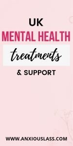 UK Mental Health Treatments And Support
