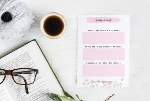 Free mental health printables for journaling - anxiety worksheets